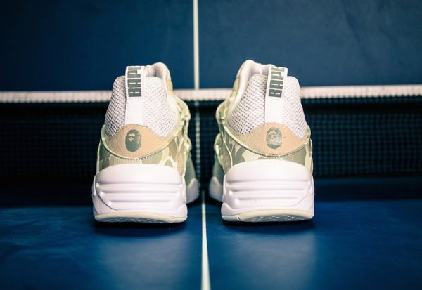Puma Blaze Of Glory x A Bathing Ape Camouflage White (2)