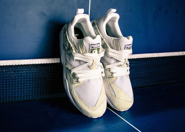 Puma Blaze Of Glory x A Bathing Ape Camouflage White (5)