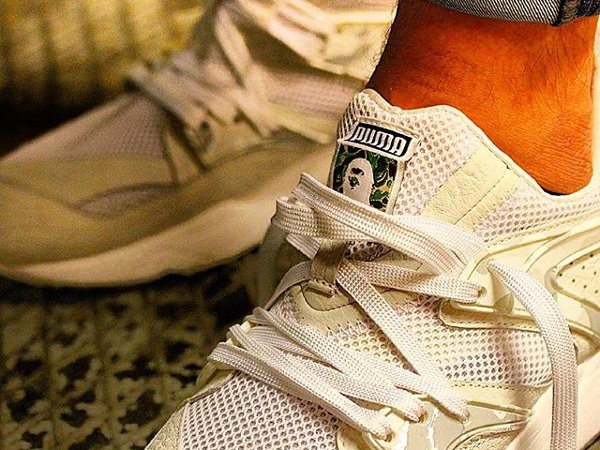 Puma Blaze Of Glory x Bape White Camo (2)
