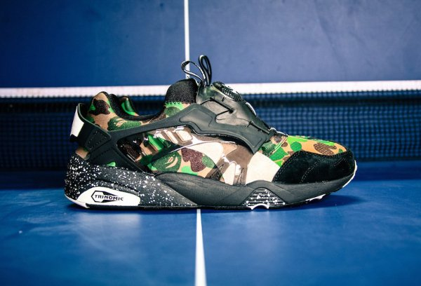 Puma Disc Blaze x A Bathing Ape Camouflage Curds Whey (3)