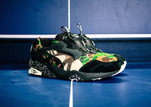 Puma Disc Blaze x A Bathing Ape Camouflage Curds Whey (4)