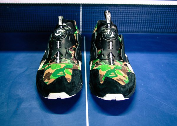 Puma Disc Blaze x A Bathing Ape Camouflage Curds Whey (5)