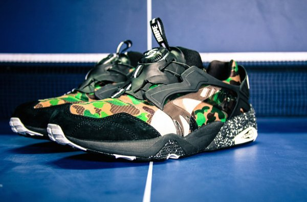 Puma Disc Blaze x A Bathing Ape Camouflage Curds Whey (6)