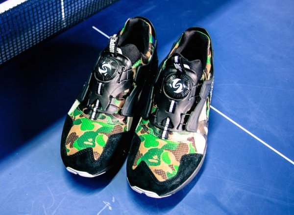 Puma Disc Blaze x A Bathing Ape Camouflage Curds Whey (7)