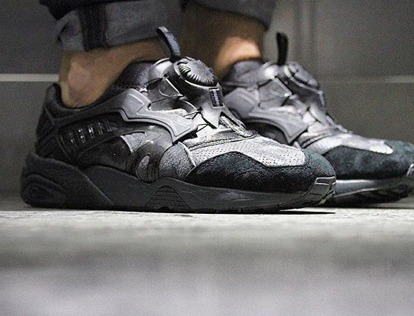 Puma Disc Blaze x Bape Forged Iron Camo