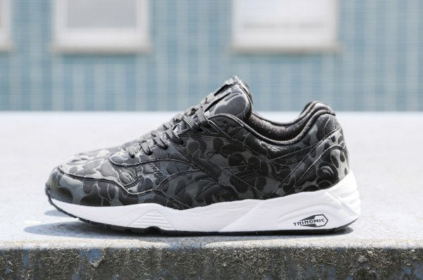Puma R698 x A Bathing Black Camouflage (1)