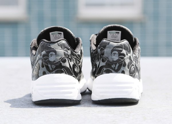 Puma R698 x A Bathing Black Camouflage (2)