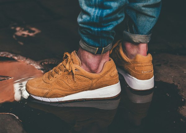 Saucony Shadow 6000 Suede Irish Coffee Whiskey Gum (1)