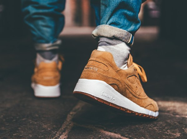 Saucony Shadow 6000 Suede Irish Coffee Whiskey Gum (3)
