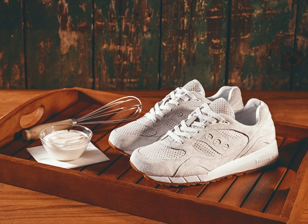 Saucony Shadow 6000 Suede White Gum