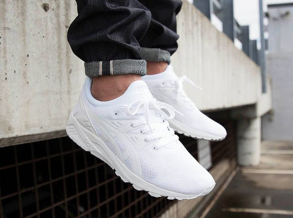 big sale 177a7 aaec6 Asics Gel Kayano Evo White colchesterfoodanddrinkfestival.co.uk