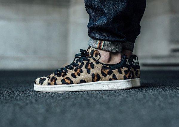 Adidas Stan Smith 'Cheetah' Black Chalk White