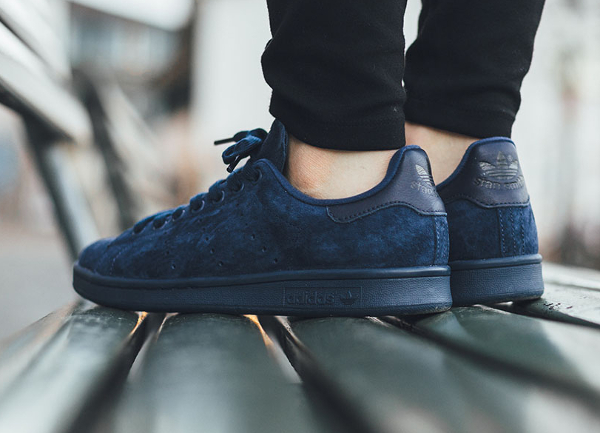 adidas stan smith suede bleu,chaussures adidas stan smith