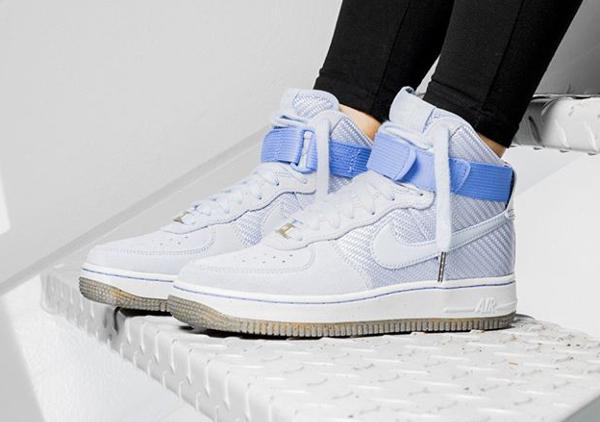 Nike Wmns Air Force 1 High PRM Porpoise (femme) (8)