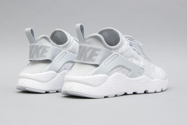 Nike Wmns Air Huarache Ultra Run Jacquard White Metallic Silver (femme) (2)