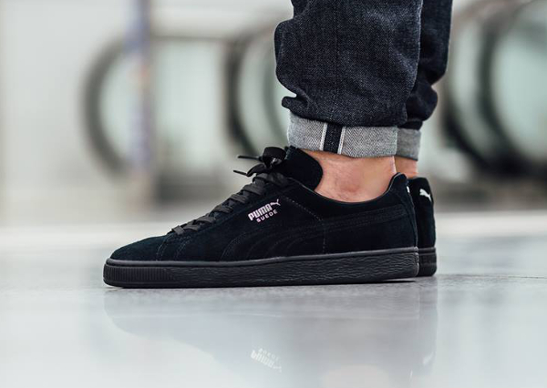 Puma Suede Classic Black Dark Shadow wearpointwindfarm.co.uk b14a5a844624