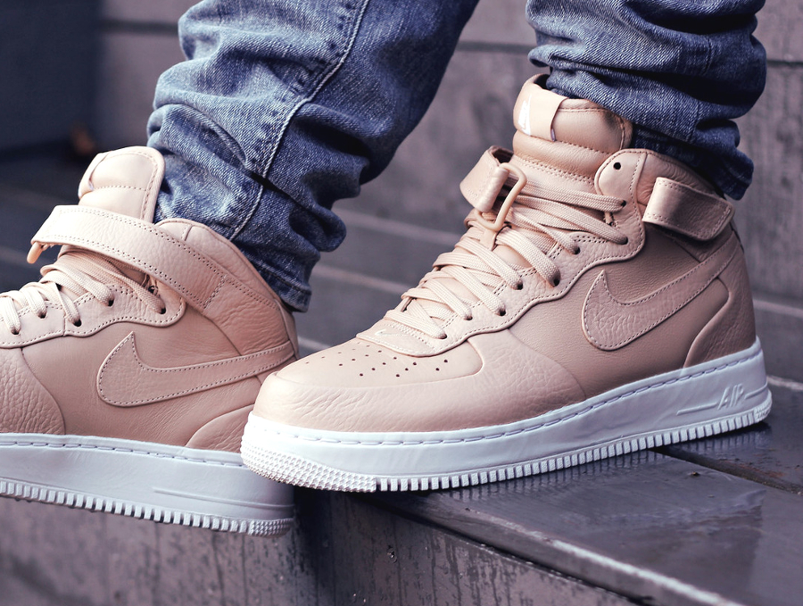 NikeLab Air Force 1 Mid SP Vachetta Tan