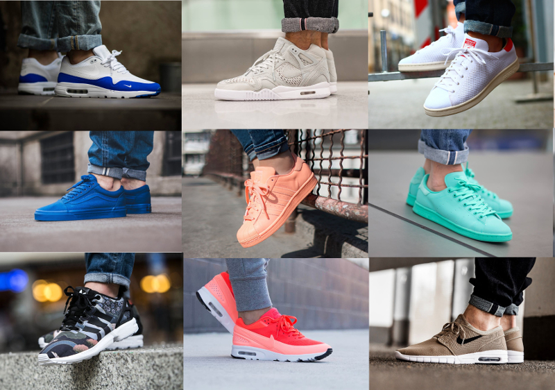 soldes sneakers hiver 2016