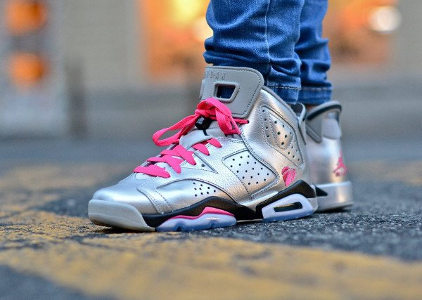 (2014) Air Jordan 5 Valentine s day Metallic Silver - @chmielna