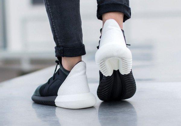 Adidas Tubular Black White