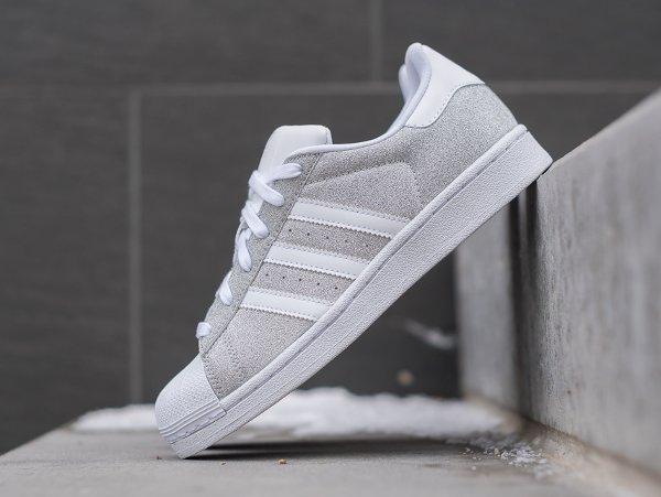Adidas Superstar W paillette argenté (femme) (2)