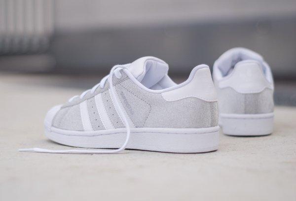 Adidas Superstar W paillette argenté (femme) (5)