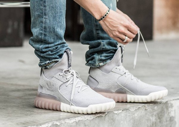 Adidas Originals Tubular X Primeknit Review Close Up On Feet
