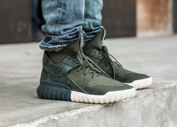 Adidas Tubular X Shadow Green