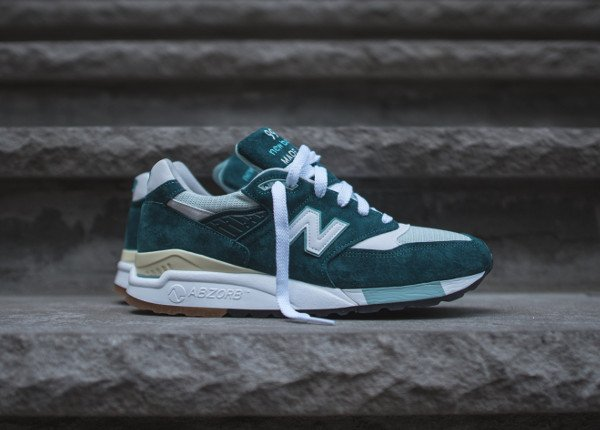 New Balance M998CSAM Green/White (Made in USA)