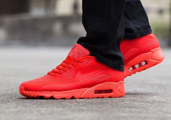 nike air max 90 ultra moire crimson red