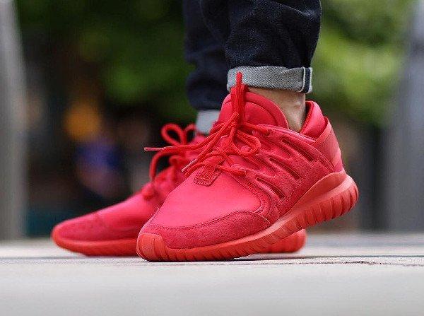 adidas tubular rouge
