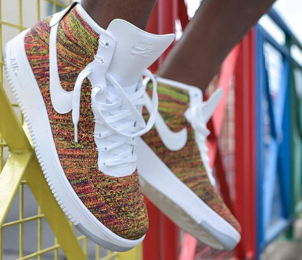 factory authentic b8129 b9f8a Nike Air Force 1 Ultra Flyknit Mid Multicolour 2.0 ukpinefurniture.co.uk