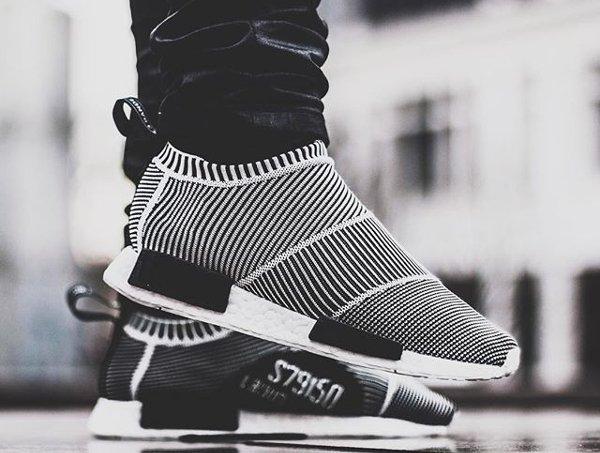 Adidas NMD CS1 City Sock PK 'Black/White' post image