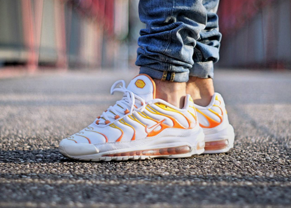 air max plus 97 sunset