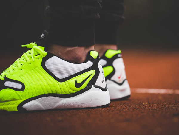 basket Nikelab Air Zoom Talaria OG SP White Volt 2016 pas cher (2)