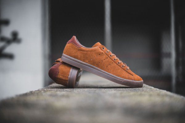 chaussure Adidas Originals Côte Beach SPZL Simple Brown (1)