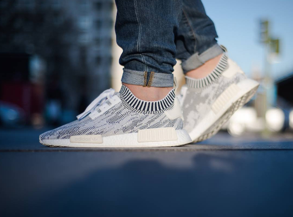 Adidas NMD R1 PRIMEKNIT 6 7 8 9 10 11 WINTER WOOL BLACK
