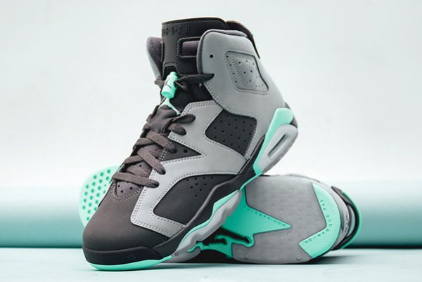 Basket Air Jordan 6 Retro Green Glow (2)