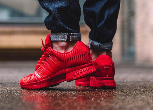 Climacool Adidas Rouge