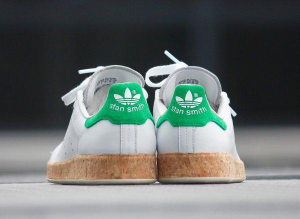 chaussure Adidas Originals Stan Smith Luxe W White Black (6)
