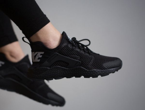 brand new 1aa4e eedd1 chaussure Nike Wmns Air Huarache Ultra Breathe Run BR Black (femme) (1) ...