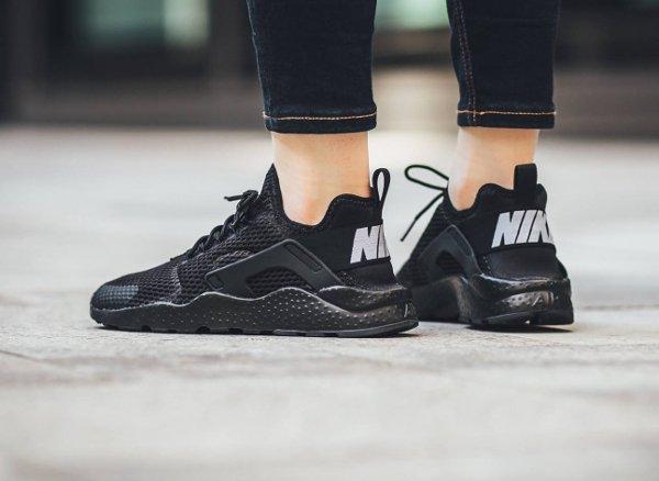 chaussure Nike Wmns Air Huarache Ultra Breathe Run Black (femme) (4)