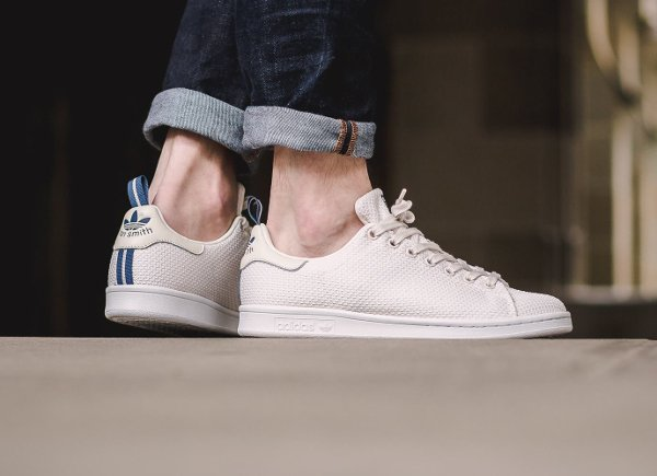 Basket Adidas Stan Smith Circular Knit Chalk White (2)