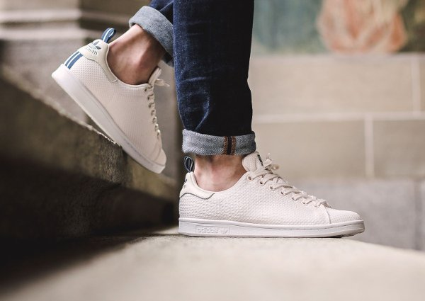 Basket Adidas Stan Smith Circular Knit Chalk White (3)