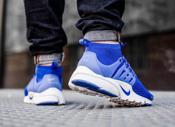 Basket Nike Air Presto Ultra Flyknit Racer Blue (homme) (1)