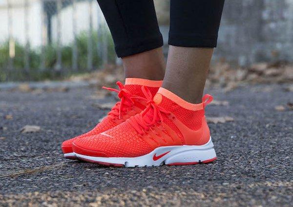 Nike Presto Noir Et Jaune Fluo