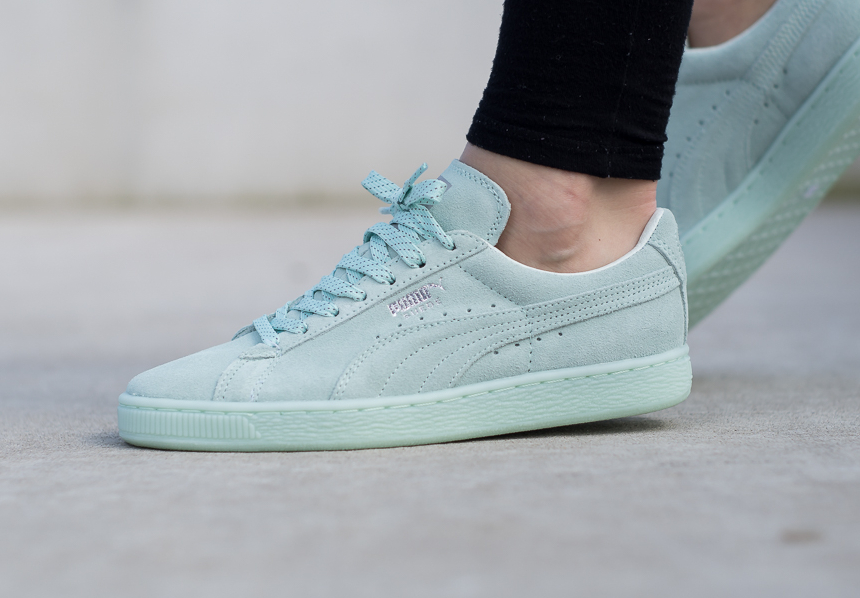 Puma Suede Light Blue