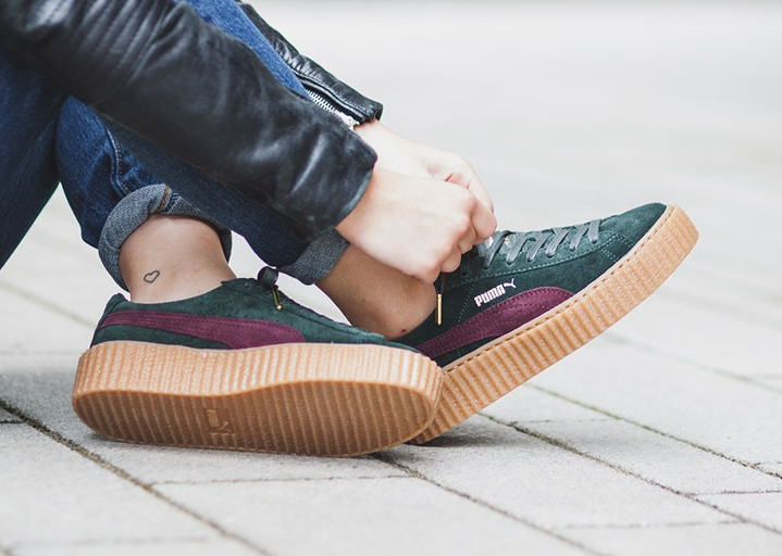 Puma Rihanna Creeper Bordeaux