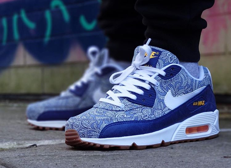 Nike Air Max 90 x Liberty London 2014 Unboxing & Detailed look