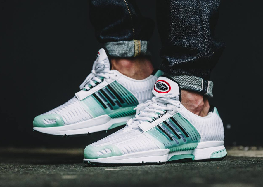 c9cca8f317 ... chaussure Adidas Originals Climacool 1 PRM White Ice Green pas cher